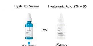 [รีวิว] ระหว่าง La Roche Posay Hyalu B5 Serum กับ The Ordinary Hyaluronic Acid 2% + B5 ควรเลือกใช้ผลิตภัณฑ์ตัวไหนดี cover