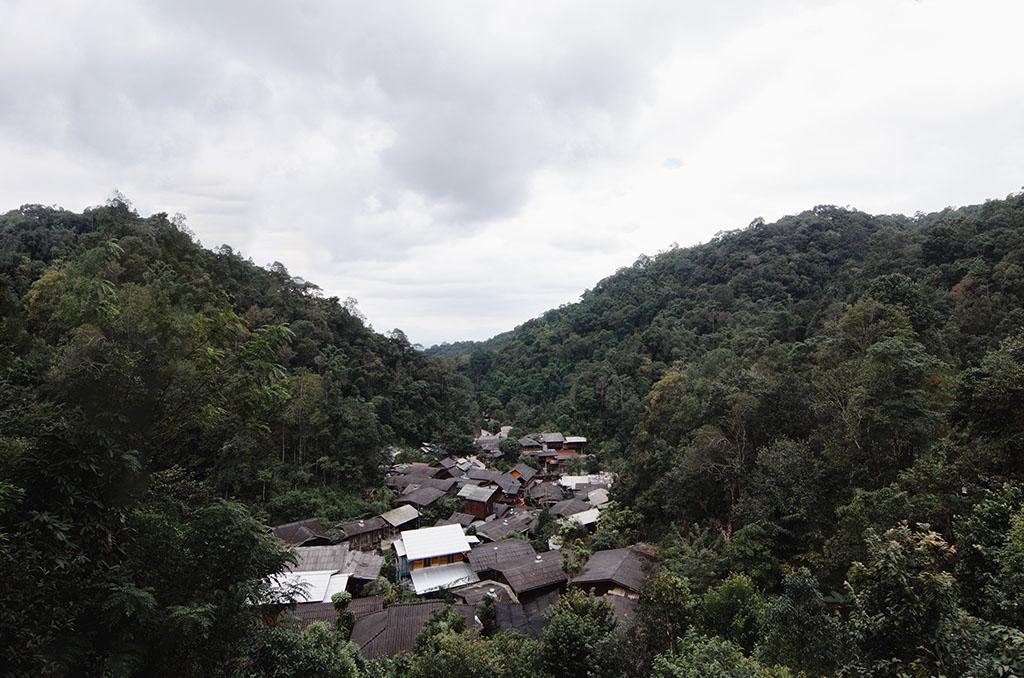 วิวหมู่บ้านแม่กำปอง