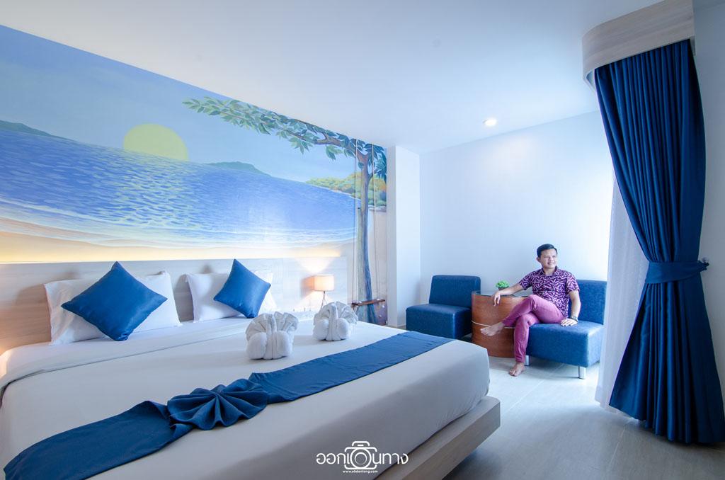 ห้องสุพีเรียร์ โรงแรม Flipper House Pattaya